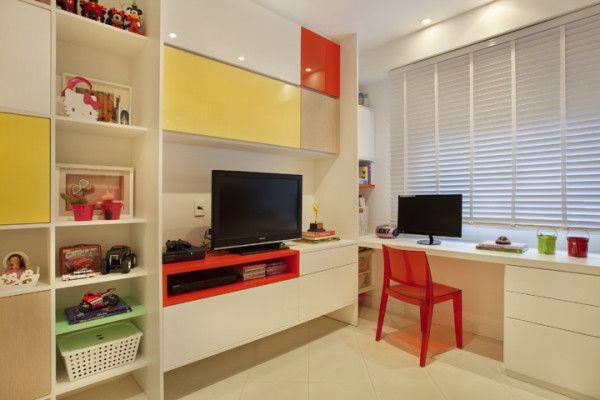Quarto para duas crianças   Kids rooms, Quartos and Bedrooms