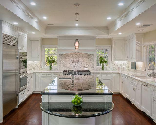 Atherton Family Kitchen Traditional Kitchen San Francisco - Family-kitchen-design