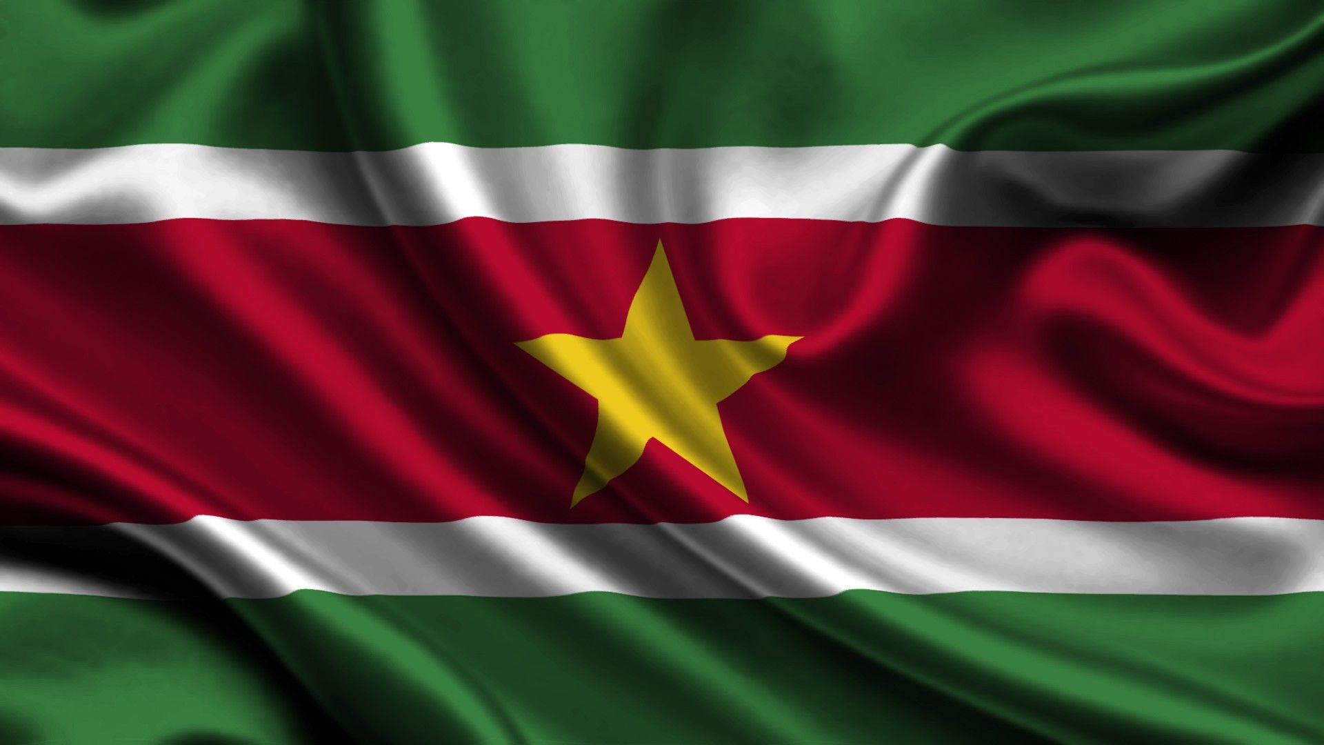 Flag of Suriname wallpaper  Flags wallpaper  Pinterest  Flags