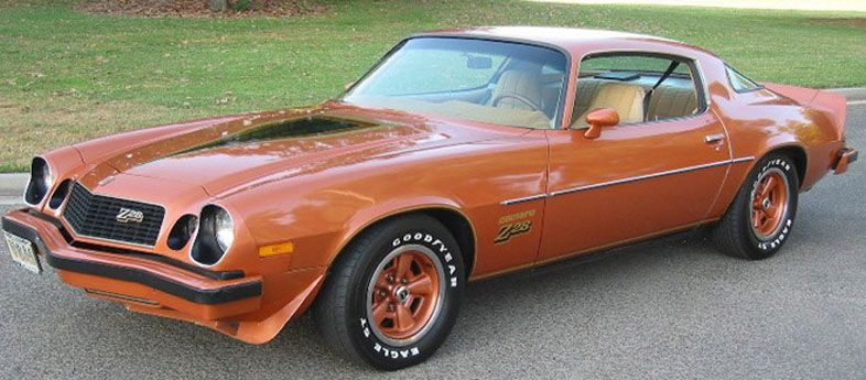 Camaro Z28 19741977...My hubby had a candy apple red one