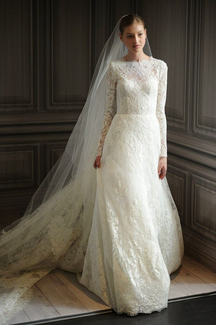 Lace long sleeve wedding dress | One day I\'ll say Yes... to the ...