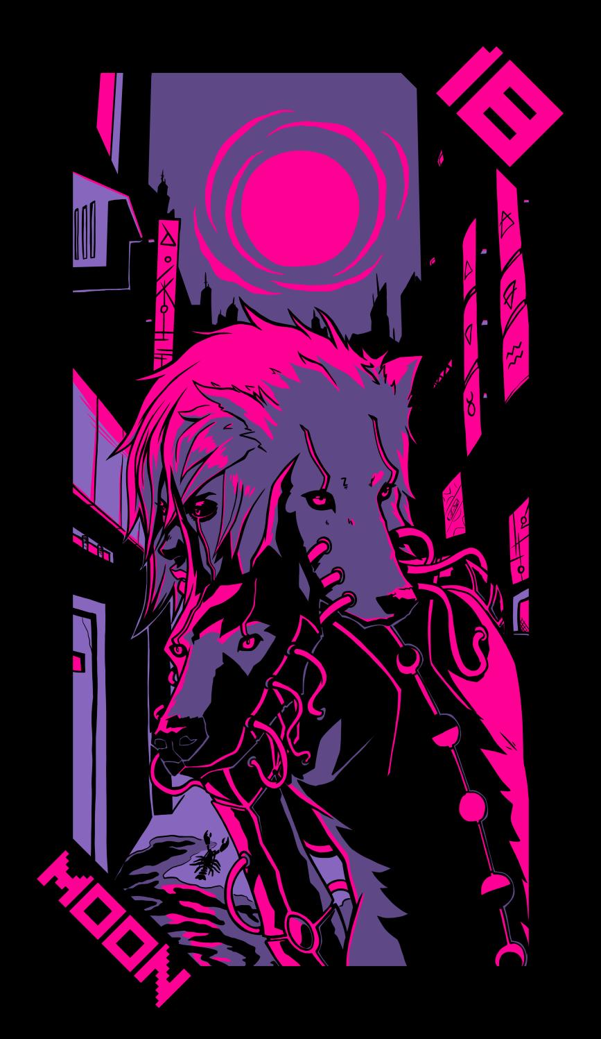 Neon Moon Tarot