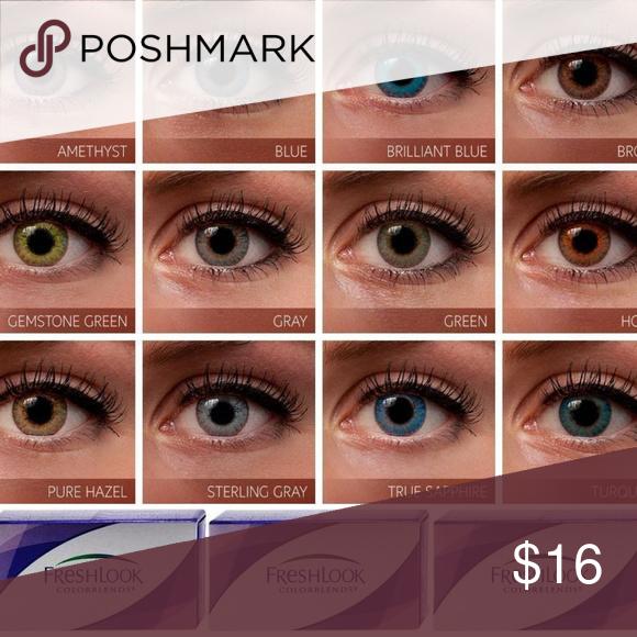 color contact lenses pure hazel freshlook color contact lenses