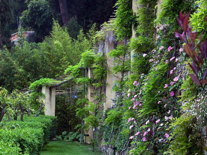 Alassio, Villa della Pergola Garden design, Garden arch