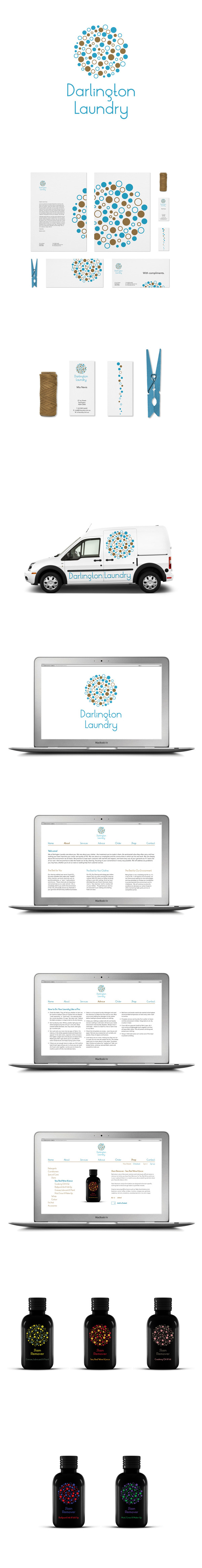 Darlington Laundry Visual Identity Website Packaging Laundry Laundry Business Vintage Laundry Room