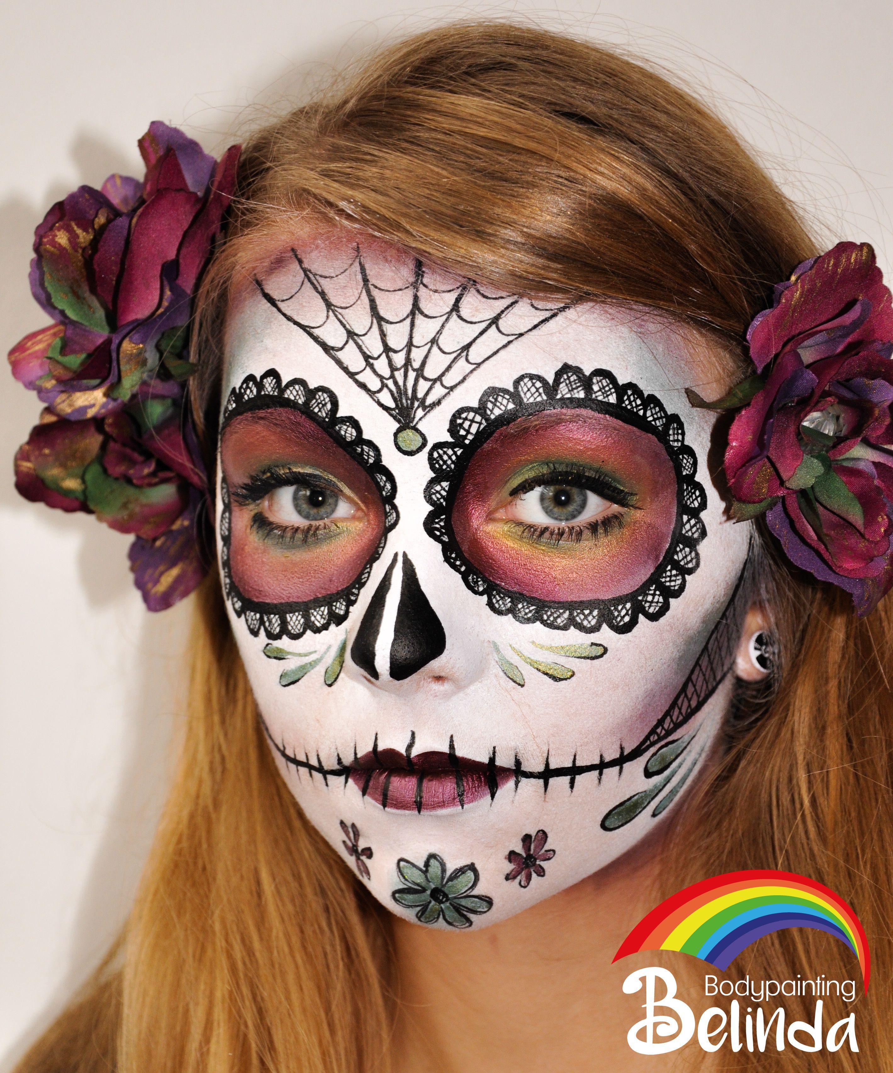 sugar skull artist belinda wurmitzer halloween in 2019. Black Bedroom Furniture Sets. Home Design Ideas