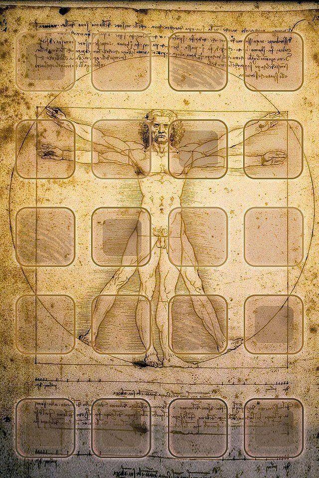 Leonardo Da Vinci Wallpaper In 2019 Screen Wallpaper