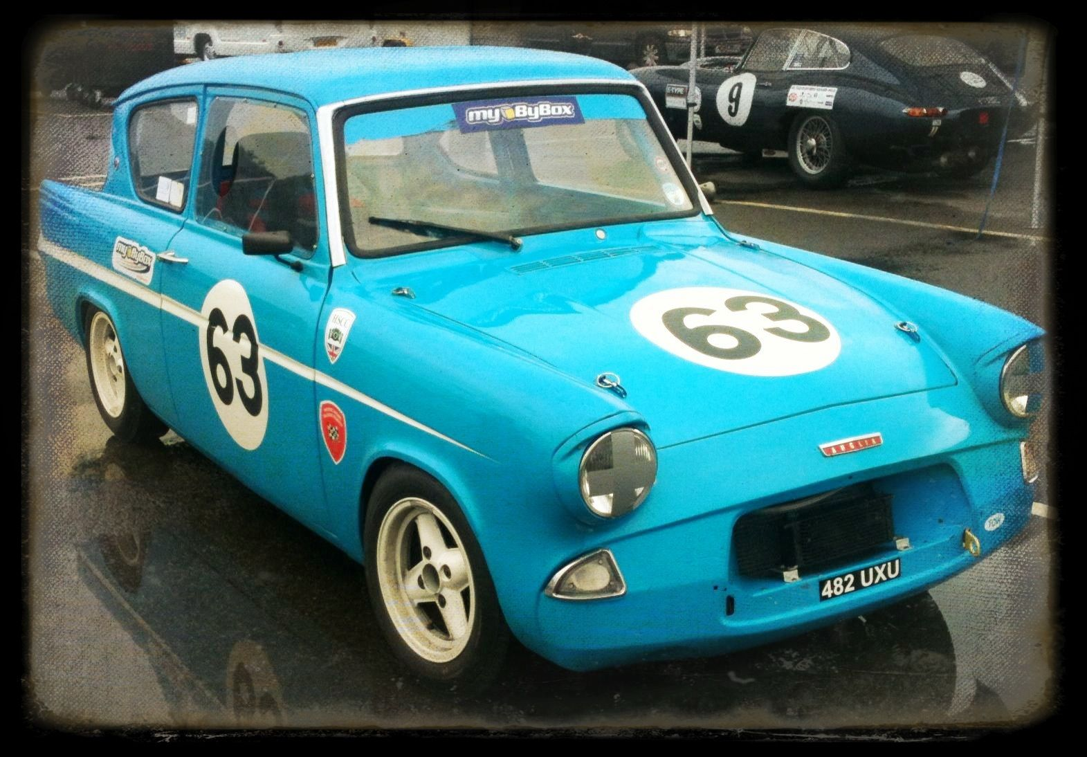 Ford Anglia Oulton Park With Images British Cars Ford