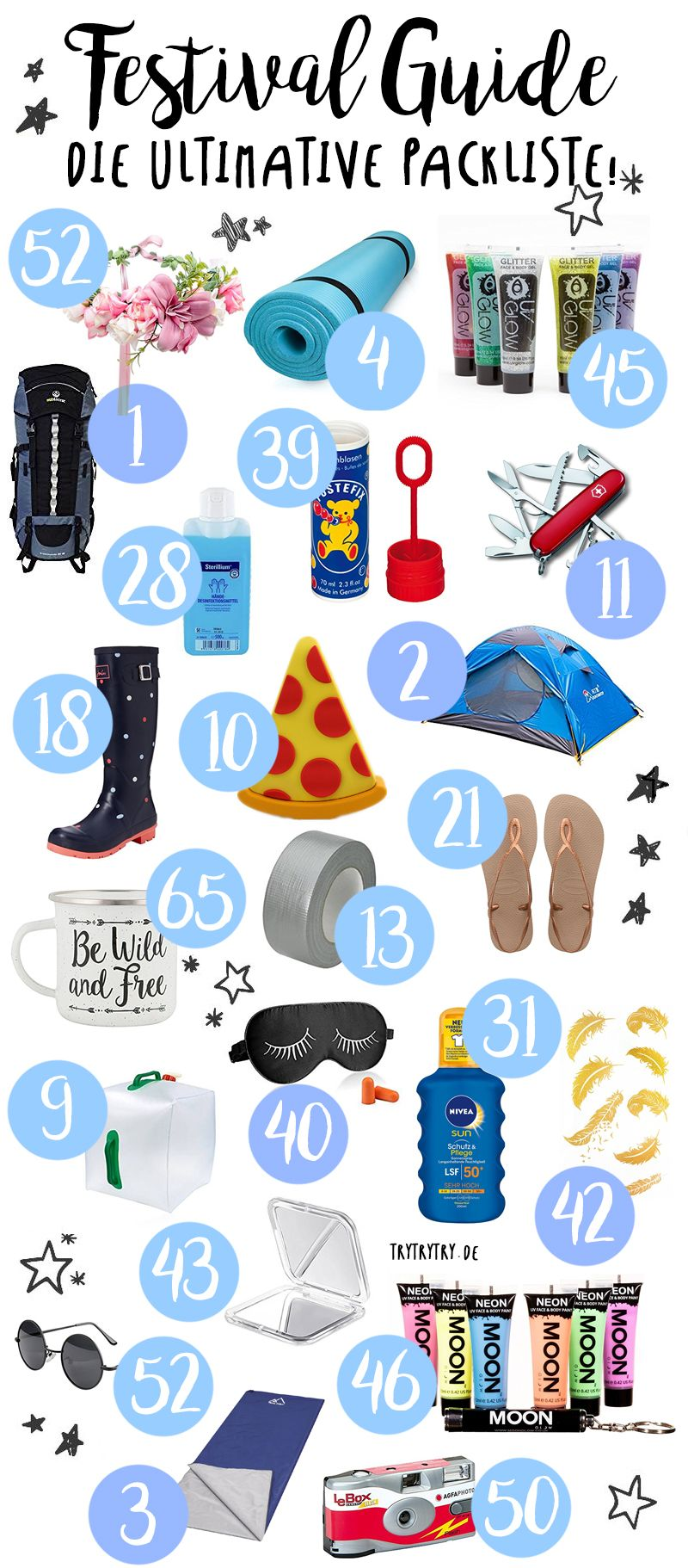 Photo of It's festival time again! But what do you actually take to a festival? …