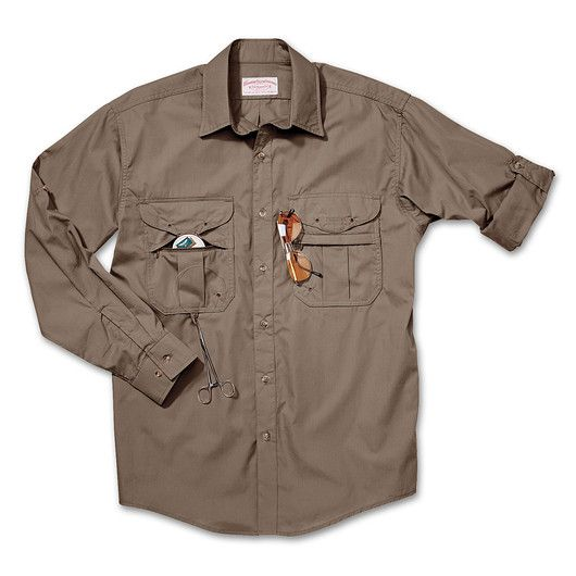 Feather Cloth Long Sleeve Fly Fishing Shirt