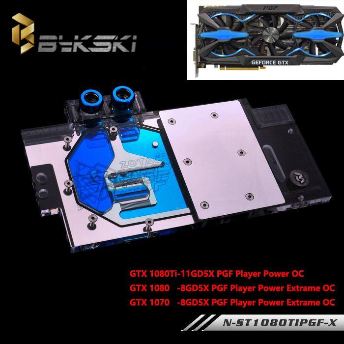 Bykski Full Cover Graphics Card Water Cooling Gpu Block Use For