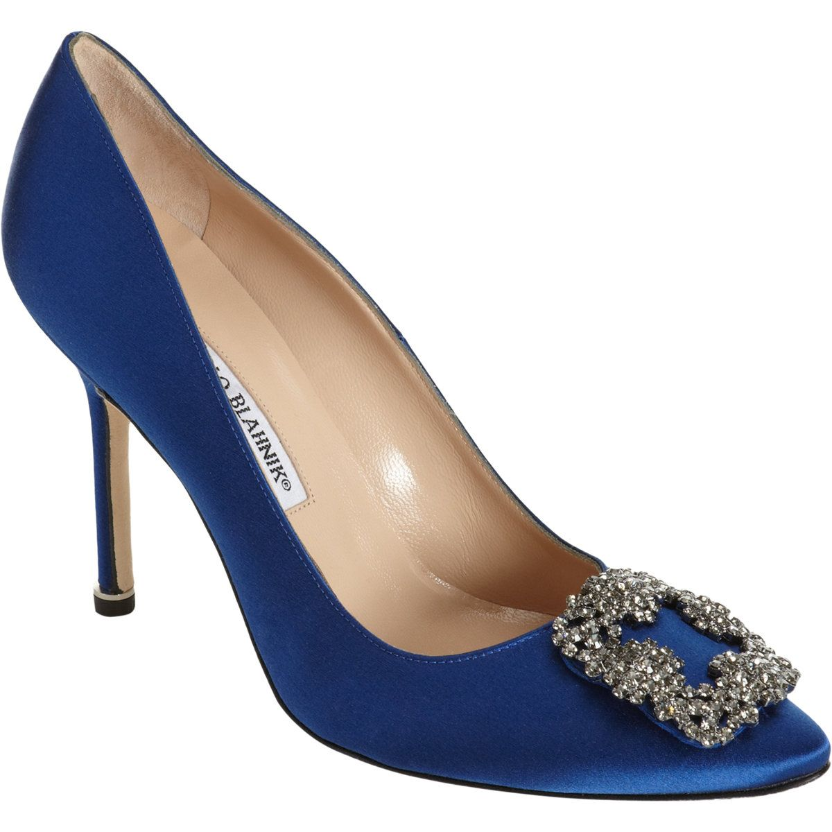 Blue shoes in sex and the city