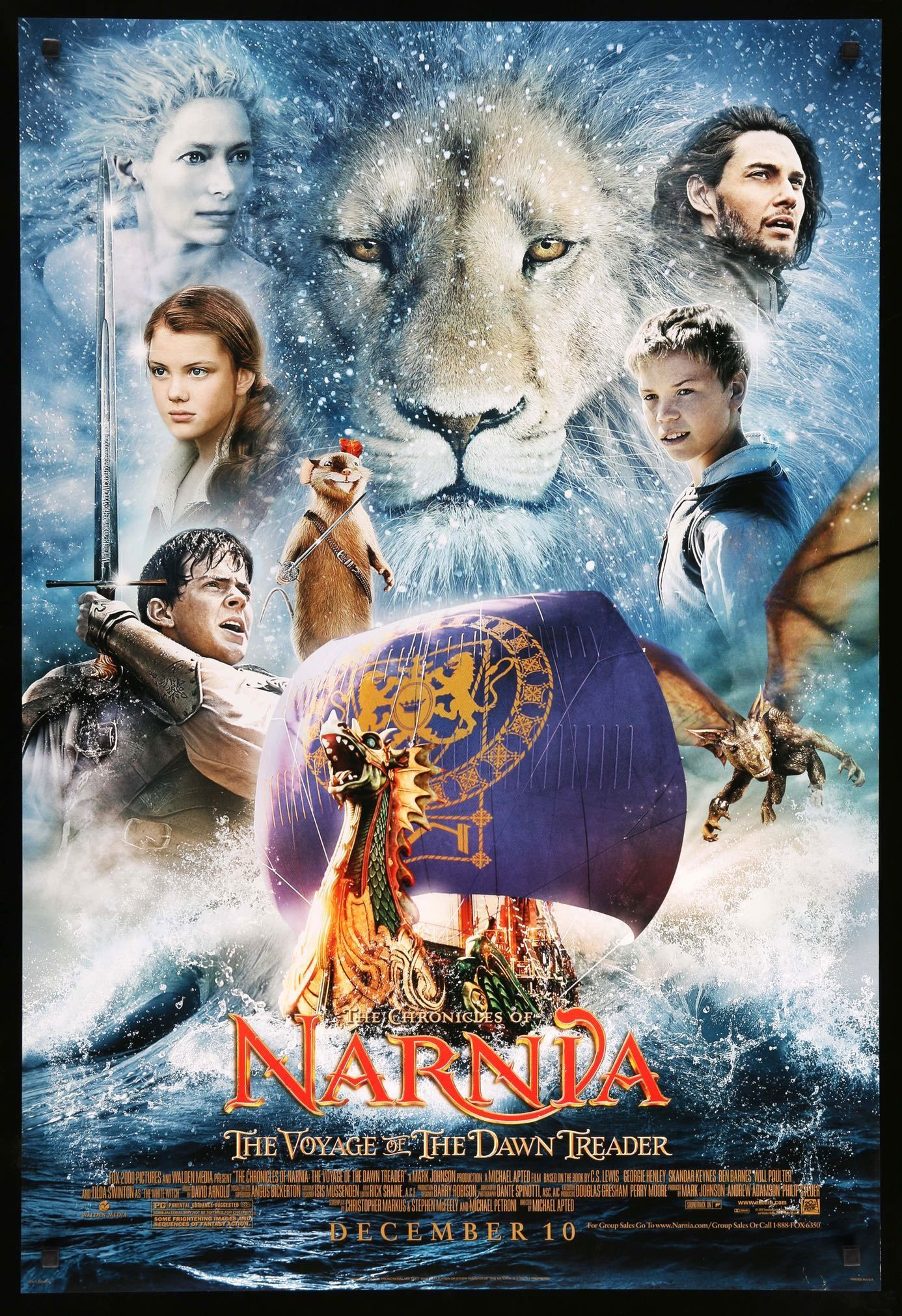 Chronicles Of Narnia The Voyage Of The Dawn Treader 2010 With