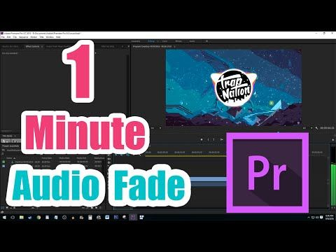 How To Fade Out Audio In Premiere Pro Cc Fast Tutorial Youtube Natron