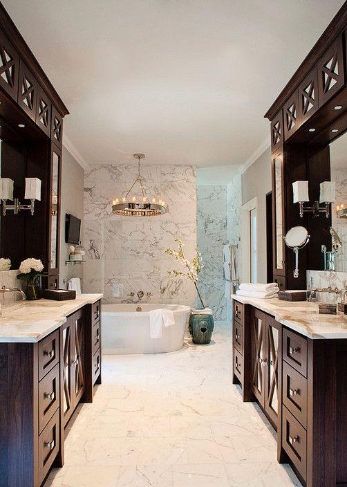 BRADSHAW DESIGNS Bath Design San Antonio Modern Calacatta Gold - Bathroom vanities san antonio for bathroom decor ideas
