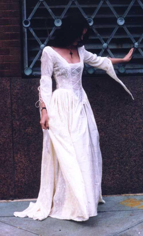Renaissance style evening dresses