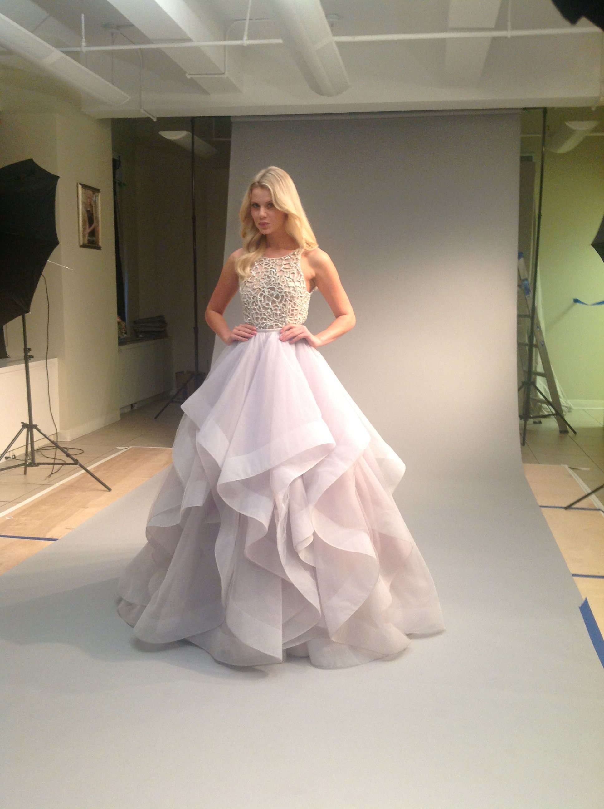 Hayley Paige Spring 2014 Collection. Dori gown. #hayleypaige ...