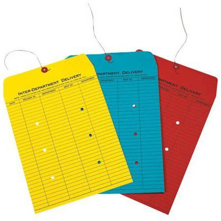 10 x 13 Inter-Department Envelopes - Sunflower (1000 Qty.), Yellow #importantdocuments