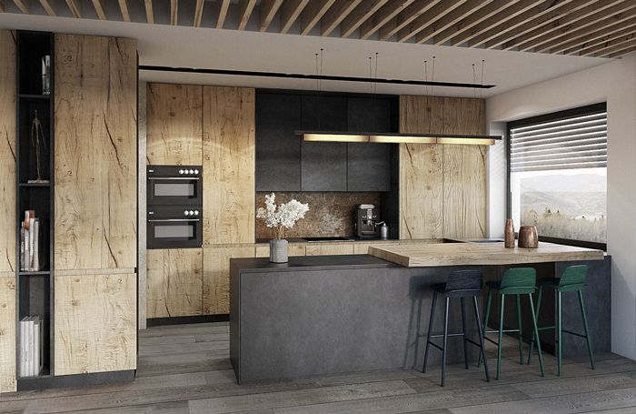 ładna Kuchnia Lada Też Kuchnie Modern Kitchen Interiors