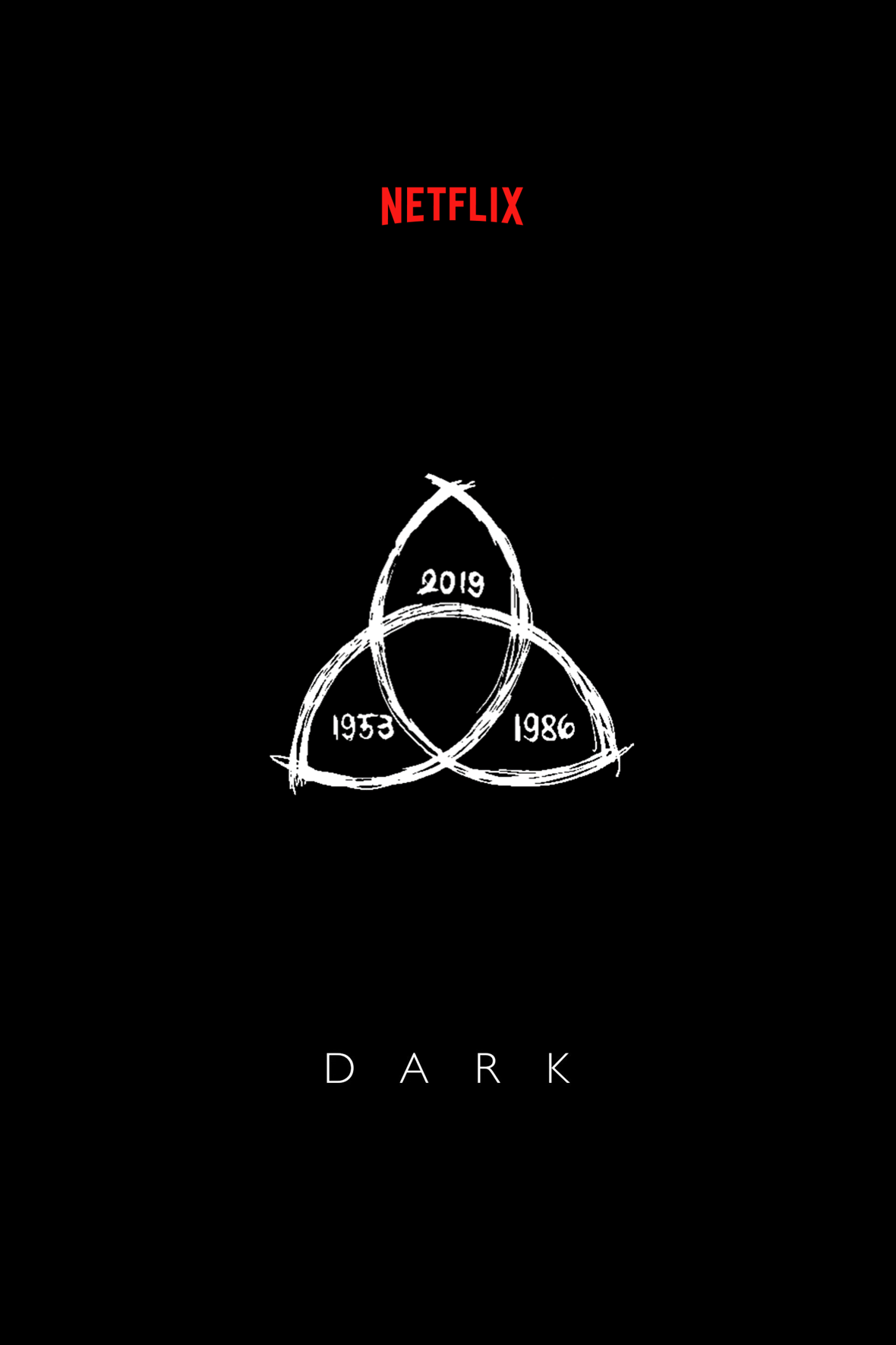 Dark Serie Netflix Minimalist Poster Netflix Dark Wallpaper