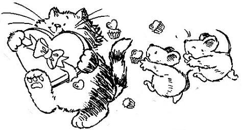 Cat Mouse Desenhos Desenhos Desenhos Infantis E Desenhos Para