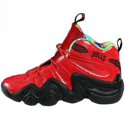 Adidas Crazy 8 Chicago Bulls LE Mens C77539 Red Black Basketball Shoes Size  9 f050637f3