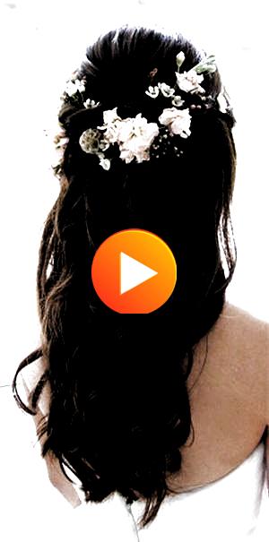 #WeddingHair #BridalHair bridal hairstyles pictures wedding hairstyles long hair indian bridal hairs