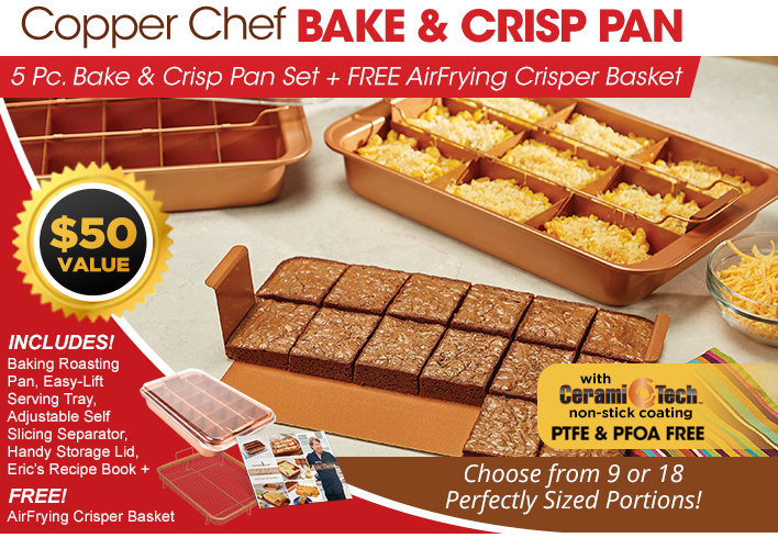 Copper Chef Bake And Crisp Pan Products I Love In 2019 Copper