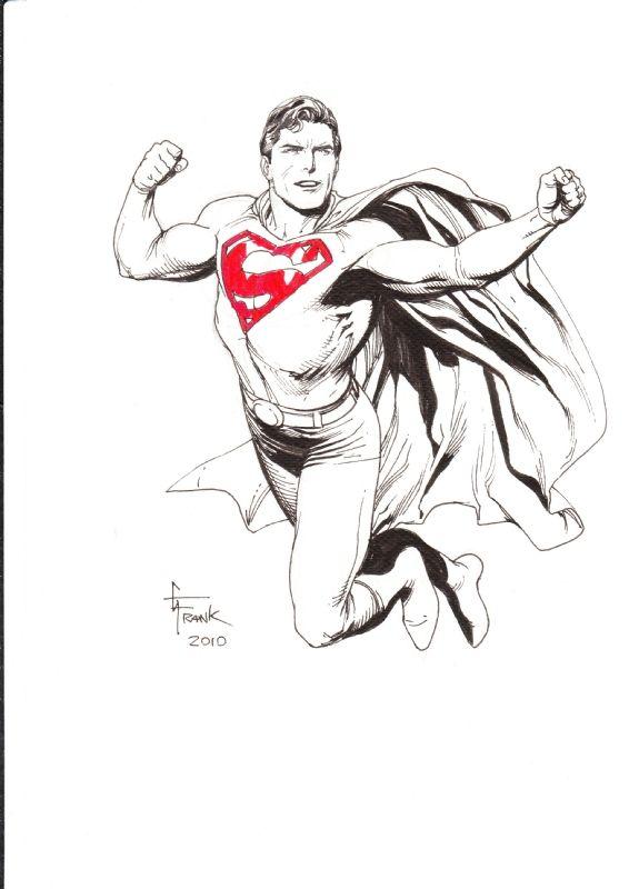 Superman Gary Frank In P Fisico S Gary Frank Comic Art Gallery Room 674096 Comic Art Superhero Coloring Superman