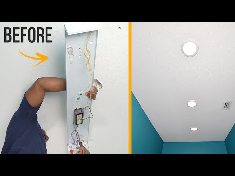 How To Install Led Recessed Lights Youtube Install Ceiling Light Led Recessed Lighting Recessed Lighting