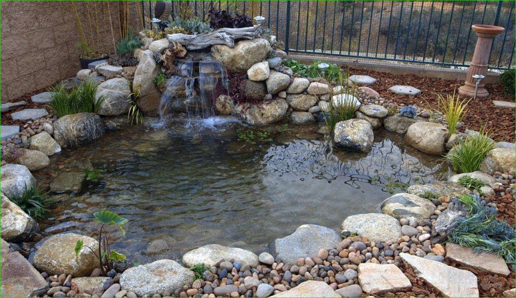 40 Awesome Small Backyard Pond With Lawn Ideas Ponds Backyard