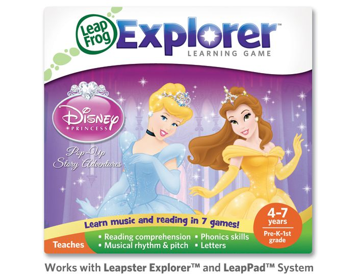 Explorer™ Game Cartridge: Disney Princesses: Pop-Up Story Adventures