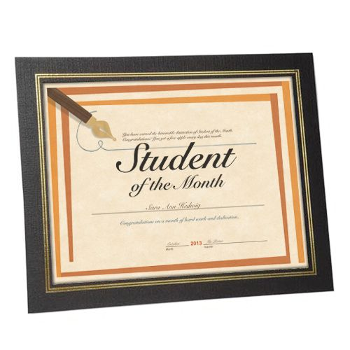 Certificate Easel Frame Recycled Paper Paper Diploma Frame
