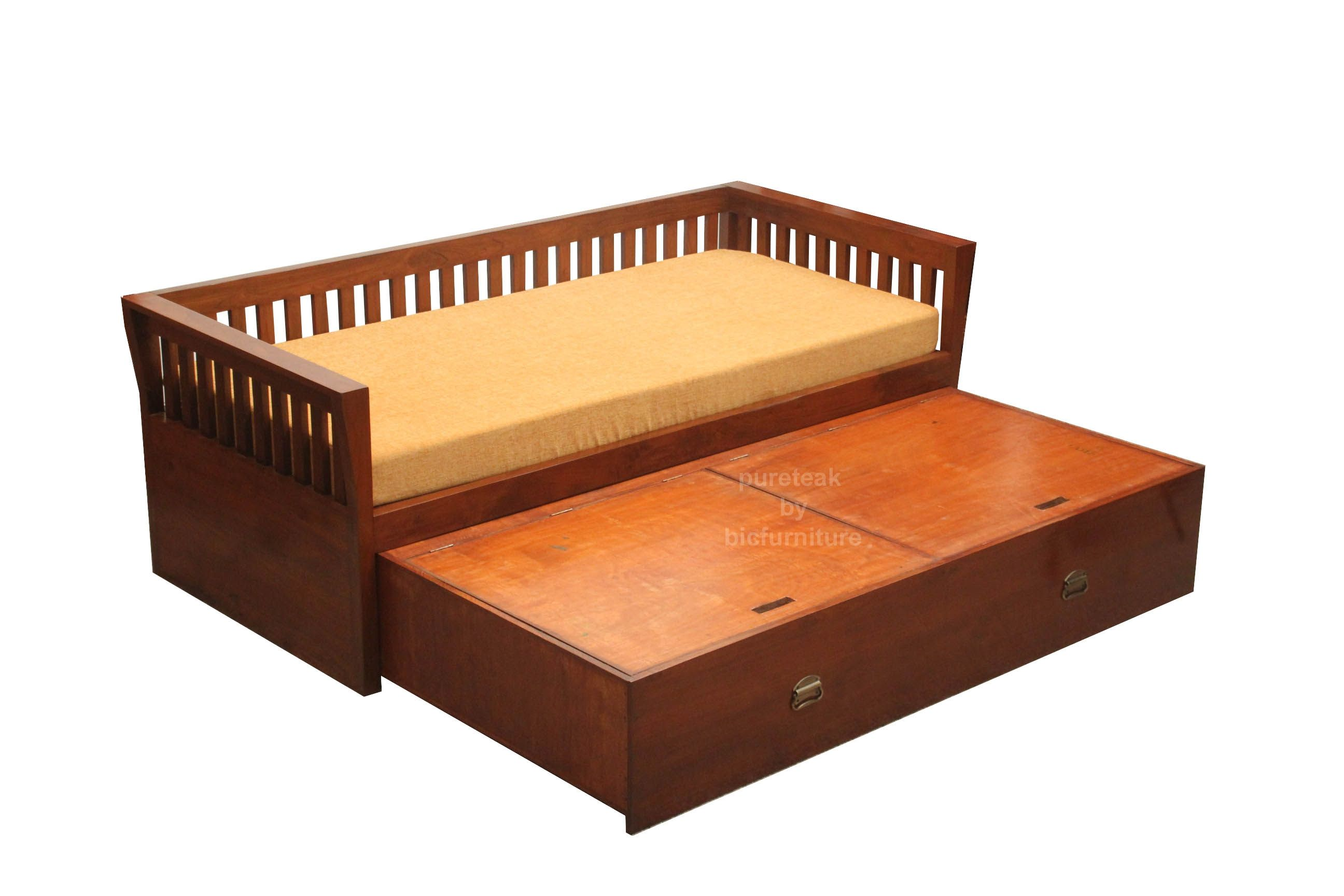 Images Of Wooden Sofa Beds