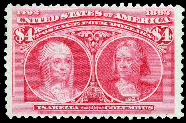 US stamps #244 Columbian 1893
