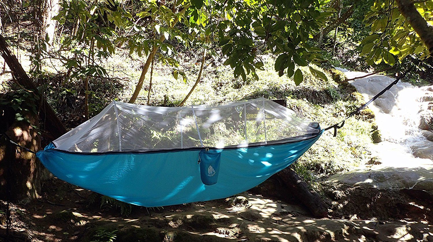 Amazon sale chill gorilla pro mosquito luxury hammock with tree