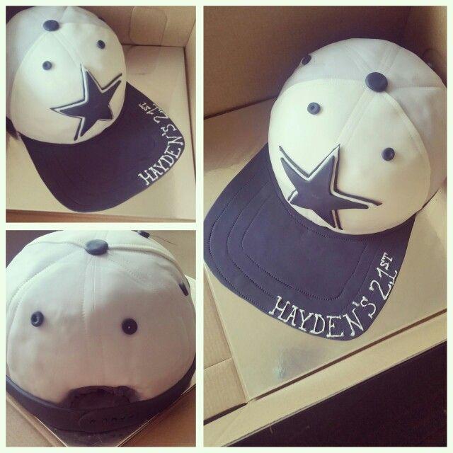 6ada341e986 Dallas Cowboys Hat Cake Www.facebook.com dejasfancycakes