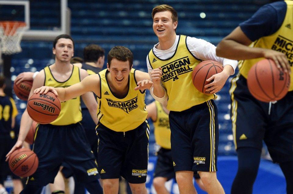 Michigan prepares for Tulsa in NCAA tournament. LETS GO
