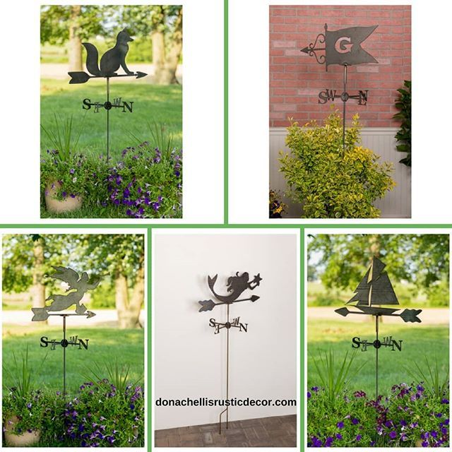 Itu0027s Weathervane Wednesday! Introducing Our Handcrafted Garden Weathervanes.  Today Weu0027re Featuring Our Specialty Weathervanes. Choose From An Angelu2026