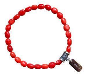 coral jewelry - zen jewelz - red coral bracelet