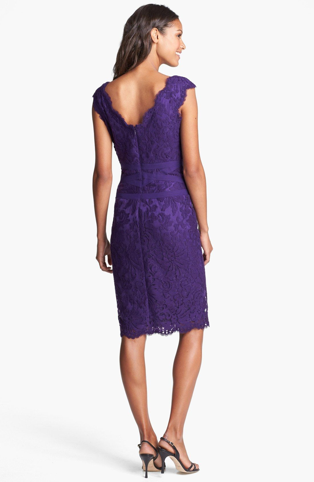 tadashi-shoji-deep-amethyst-lace-tulle-sheath-dress-product-3 ...