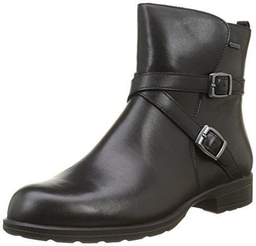 Clarks Zapatos de Vestir de Piel Para Mujer, Color Negro, Talla 41 EU
