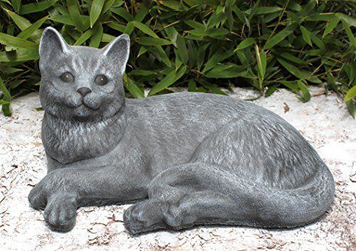 Bot Check Katzen Statue Gartenfiguren Katzen Kunst