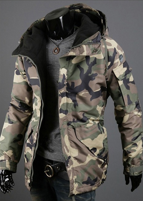 8b7af10e8d510 Men Military Camo Jacket 2 Colors in 2019 | Things to wear | Camo ...