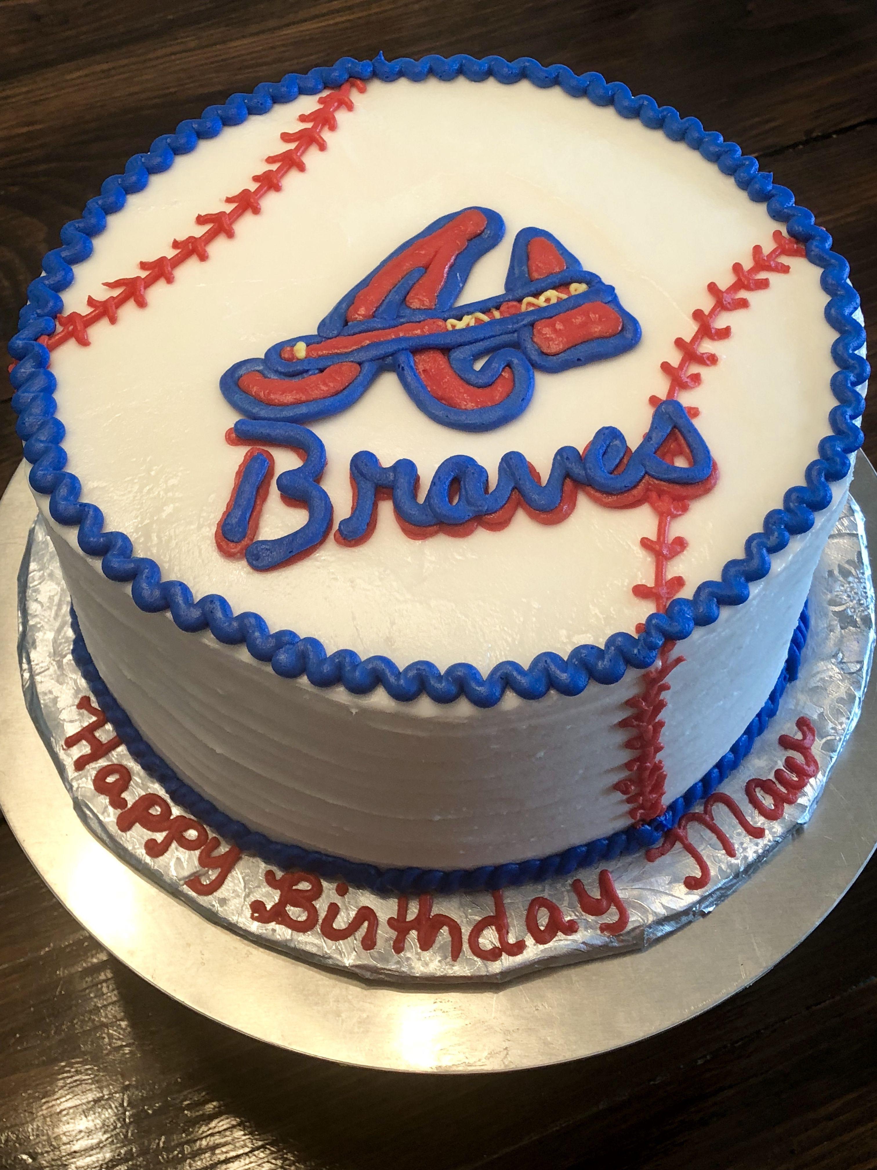 Atlanta Braves Cake Atlanta Braves Cake Brave Cakes Cake