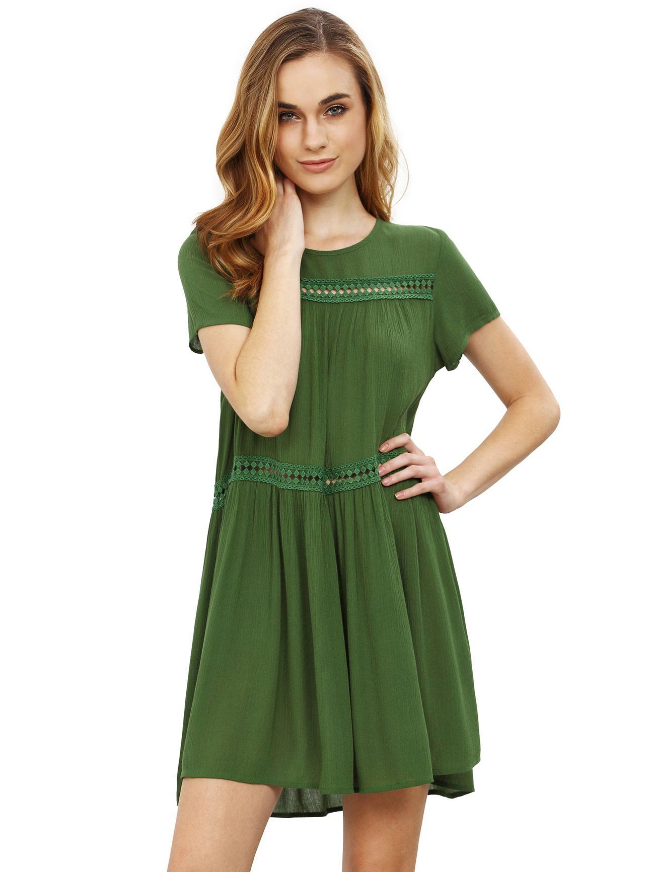 Robe A Manches Courtes Short Sleeve Shift Dress Short Sleeve Maxi Dresses Women Dress Online [ 1733 x 1301 Pixel ]