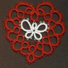 Butterfly Heart pattern and copyright © 2001, Sheila Edlund