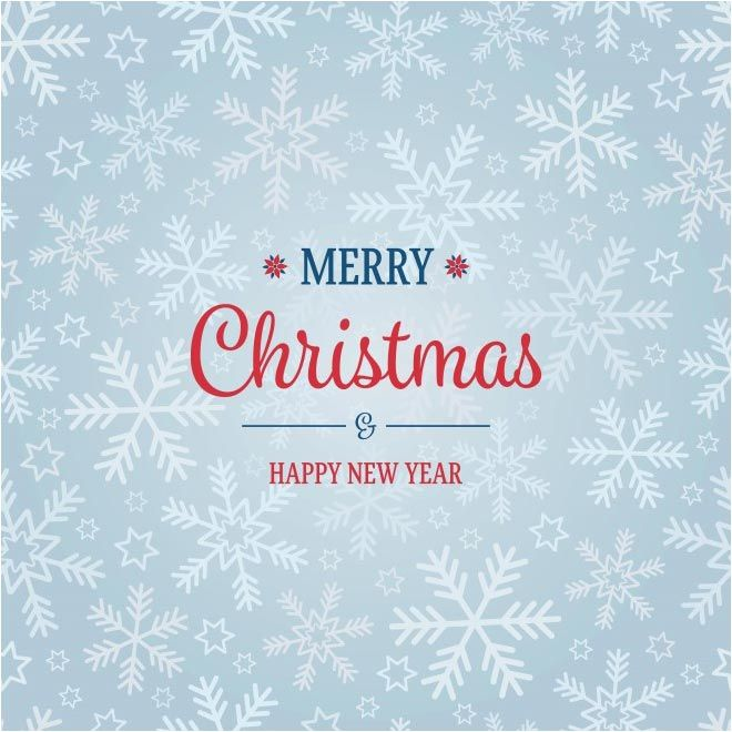 free vector merry christmas happy new year background httpwww