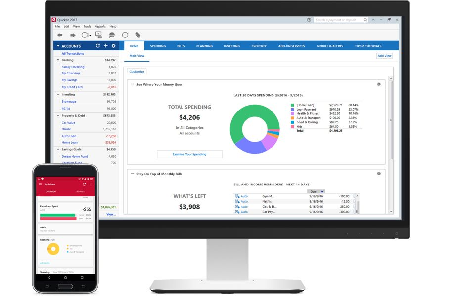 Quicken Premier 2017 Personal Finance  Investment Tracking