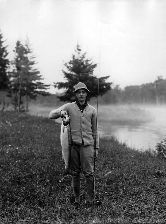 Old Fishing Photos : Photo
